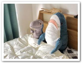 ikeaのサメの人形が話題!大きさや値段は?洗濯できるって本当?3