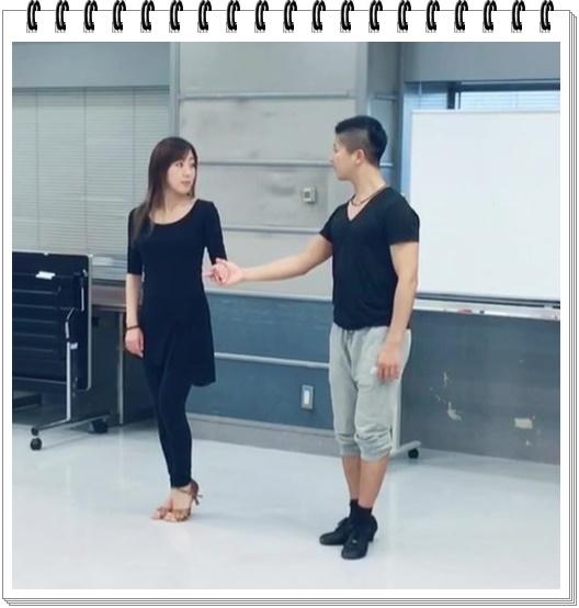 村主章枝社交ダンスの実力にコーチもビックリ!練習がすごいと話題に? 練習