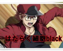 はたらく細胞blackのアニメはいつから?声優は?白血球は女なの?4