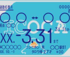 ICOCAカードや定期で同じ駅で降りるのは可能?出入りは有人改札へ1