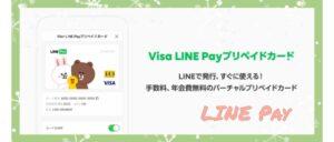 LINEPayプリペイドカードvisaはポイントが使えない?支払い方法は?2
