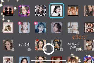 snowアプリは目が大きくなるから可愛く見える!メイク機能で盛れる?2